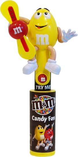 Mars/M&M´s Candy Fan, choco