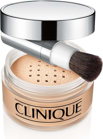 Clinique Blended-ansigtspudder/børste, Transparency Neutral