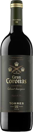 Torres, Gran Coronas, Cabernet Sauvignon, Penedès, dry, red, 0.75L