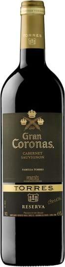 Torres, Gran Coronas, Cabernet Sauvignon, Penedès, tør, rød, 0,75L