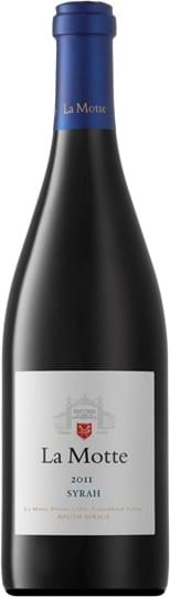 La Motte, Syrah, Wine of Origin, Coastal Region, dry, red