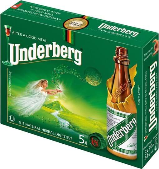 Underberg 44% 5 x 0,02L