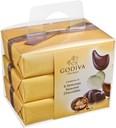 Godiva Gold Ballotin 3X6pcs. 210g
