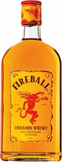 Fireball, Whisky with natural cinnamon flavor