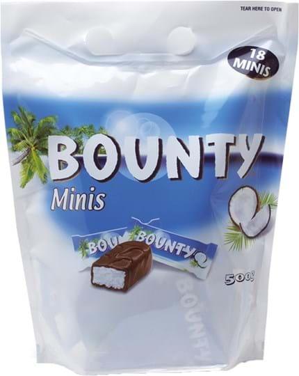 Bounty, én pose, 500g