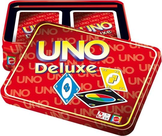 Mattel Uno playing cards