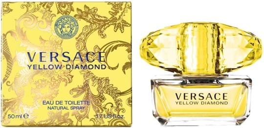 Versace Yellow Diamond Natural Eau de Toilette 50 ml