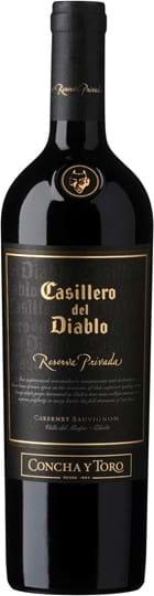 Concha y Toro, Casillero del Diablo, Reserva Privada, Cabernet Sauvignon/Shiraz, Maipo, DO, tør, rød, 0,75L