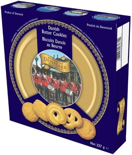 Kelsen Danish Butter Cookies, æske med 227g