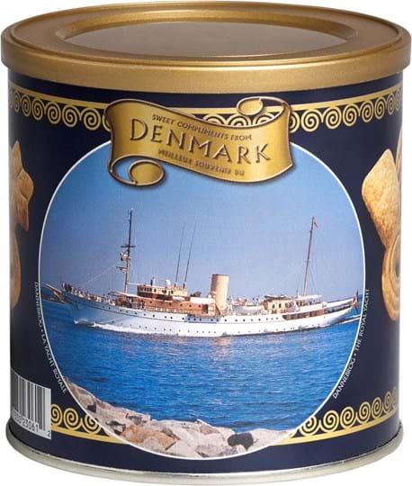 Kelsen Danish Butter Cookies i dåse med forskellige design, 200g