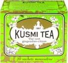 Kusmi Tea Green Ginger Lemon 20 tebreve, 44g