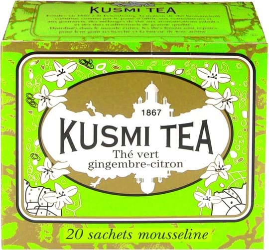Kusmi Tea Green Ginger Lemon 20 tebreve, 44g
