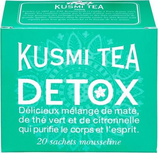 Kusmi Tea Detox - 20 muslin tea bags 1,55oz