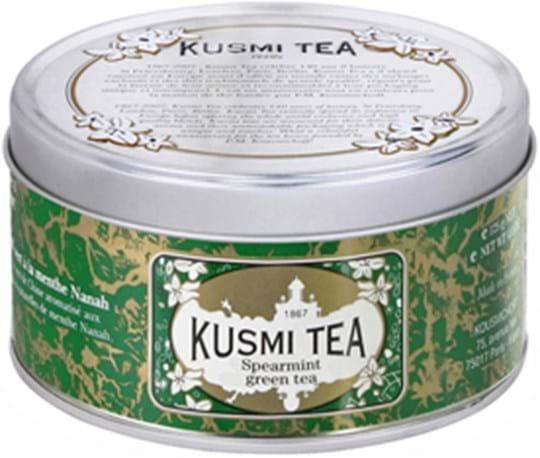 Kusmi Green Tea med spearmint, dåse med 125g
