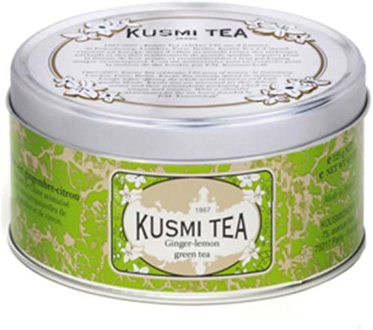 Kusmi Green Tea Ginger Lemon 125g Tin