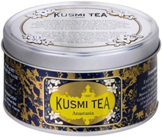 Kusmi Tea Black / Green / Fruit Tea Anastasia - Metal Tin 4,4OZ