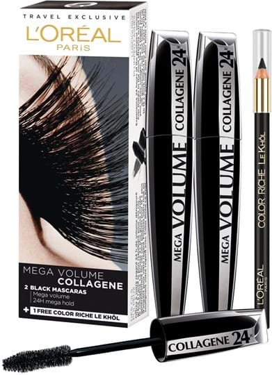 L'Oréal Paris Mega Volume Collagene Mascara Duo