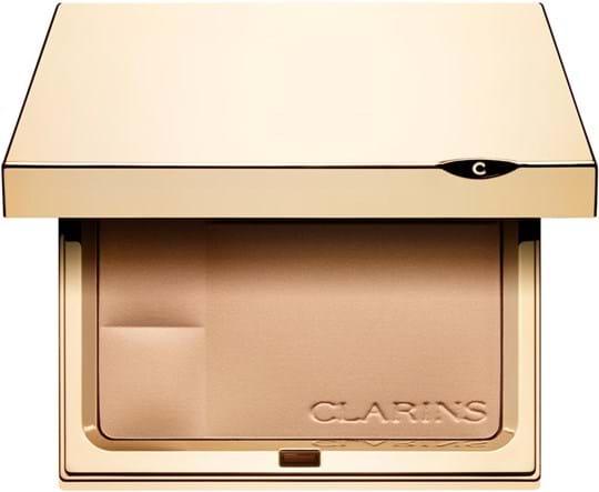 Clarins Compact Powder - Minerals Ever Matte - Mineral Powder Compact Transparent Fair 01
