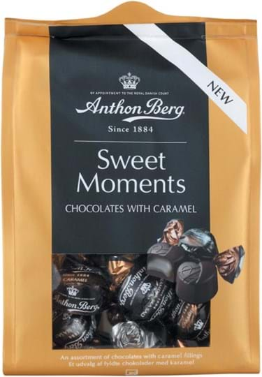 Anthon Berg Sweet Moments Caramels, assorted