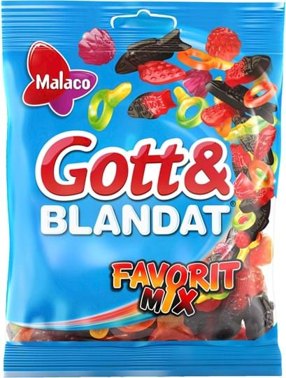 Malaco Favorit Mix 450g