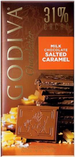 Godiva Tablet Milk Salted Caramel