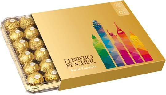 Ferrero Rocher Souvenir World Traveller