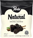 Panda All Natural, blød lakrids 240g