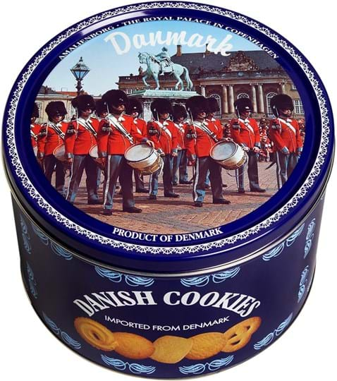 Kelsen Danish Butter Cookies 908g