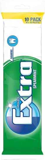 Wrigley's Extra Spearmint multipack 10x10 pallets 140g