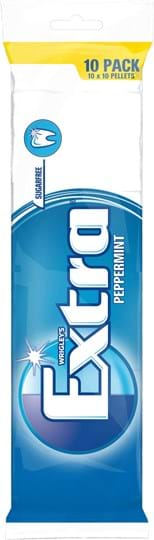 Wrigley's Extra White Peppermint 10-pack
