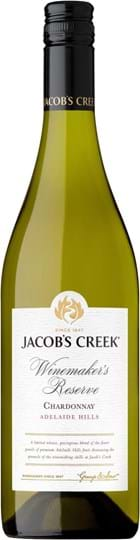 Jacob's Creek, Winemaker's Reserve, Chardonnay, Adelaide Hills, dry, white (screw cap)
