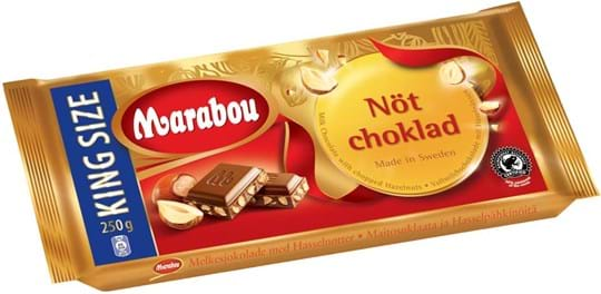 Marabou Milk Nut Chocolate
