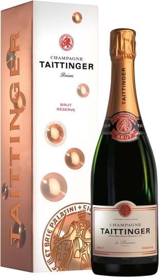 Taittinger, Brut Réserve, brut, white, (gift box), 0.75L