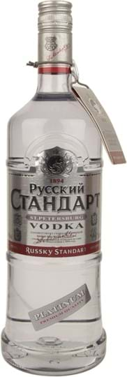 Russian Standard Vodka Platinum 40% 1L