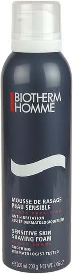Biotherm Homme Shaving Mousse de Rasage Peau Sensible 200 ml
