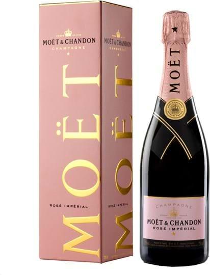 Moët & Chandon Brut Impérial, rose 0.75L Giftpack