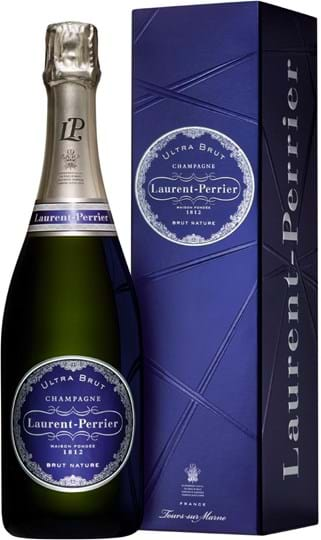Laurent-Perrier, Ultra Brut, brut nature, white (gift box)