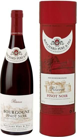 Bouchard Père & Fils, Pinot Noir, Réserve du Château, Bourgogne, AOC, tør, rød (gaveæske), 0,75L