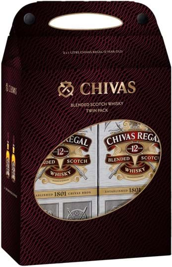 Chivas Regal,12 years, Twinpack