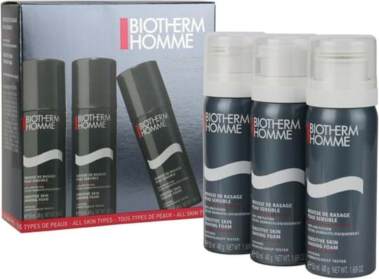 Biotherm Homme Shaving Essentials Travel Size Shaving Foam-sæt