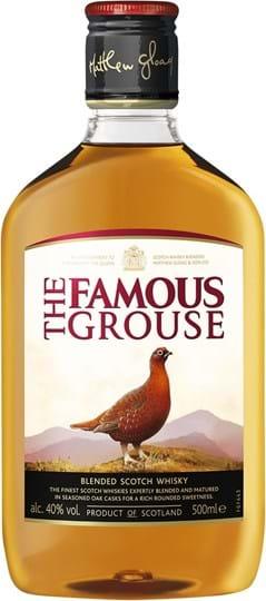 The Famous Grouse 40% 0.5L Flask PET