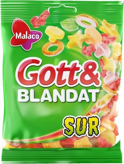 Malaco Surt & Blandat