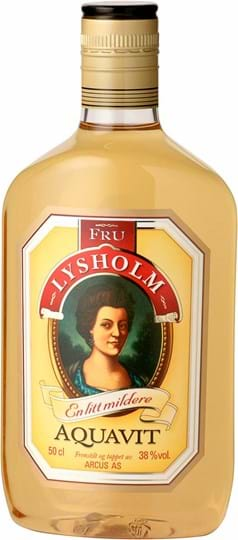 Fru Lysholm Aquavit, PET