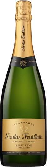 Nicolas Feuillatte, Demi-Sec, Champagne, AOC, semi-dry, white (gift box)