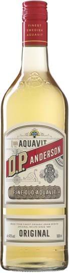 O.P. Anderson Aquavit 40% 1L, økologisk