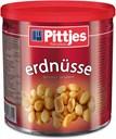 Pittjes Peanuts, saltede, dåse med 500g