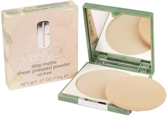 Clinique Stay-Matte Sheer Pressed Powder N° 01 Buff
