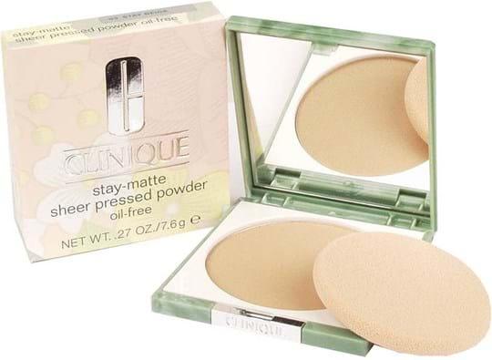 Clinique Stay-Matte Sheer Pressed Powder N° 03 Beige