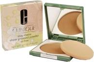 Clinique Stay-Matte Sheer Pressed Powder N° 04 Honey