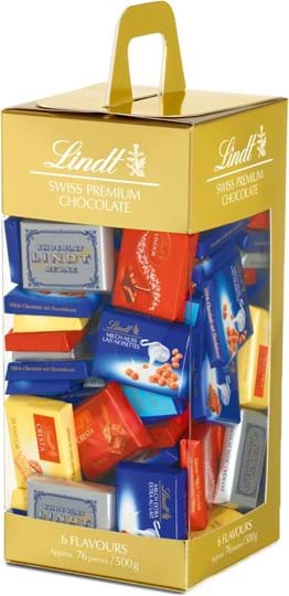 Lindt assorted Napolitains 500g